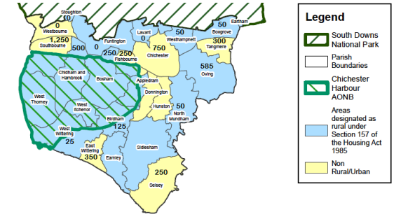 CDC local plan area parishes with allocations slim.png