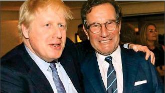 Boris Johnson and Richard Desmond